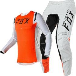 2020 Naughty Fox MX 360 Flex Air Motocross Volwassen Gear Combo MX SX DH Off-Road Crossmotor Vented motorfiets Jersey Broek