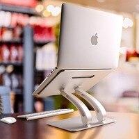 Suporte de refrigeração do portátil do livro da tabuleta da multi-função ajustável da altura do suporte do portátil/anlge para o suporte do ar do macbook pro 11-17 polegadas