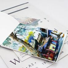 15 Sheets A3/A4/A5 Watercolor Paper Sketch Book Notepad for Painting Drawing Diary Journal Notebook Art Supplies bianyo professional sketchbook notebook a3 a4 note books 11 colors office paper tracing paper pad diary drawing art sketch book