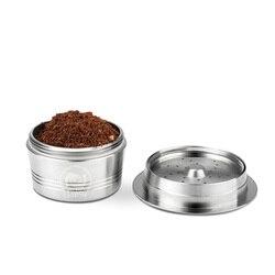 Wielokrotnego użytku wielokrotnego napełniania filtr do kawy kubeczek na kapsułkę Pod miękkim smakiem słodki ekspres do kawy gadżety kuchenne w Zestawy akcesoriów do kawy od Dom i ogród na