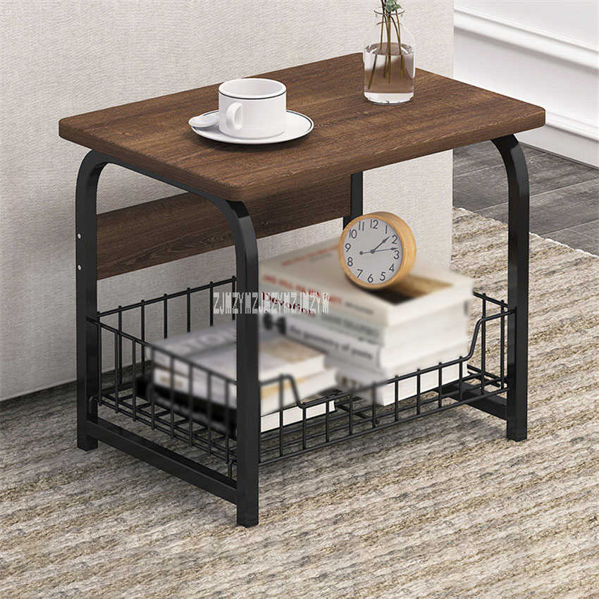 E5157 Modern Sofa Side Cabinet Bedroom Bedside Creative Storage Small Table Living Room Corner Simple Side Table 2 3 Layers Coffee Tables Aliexpress