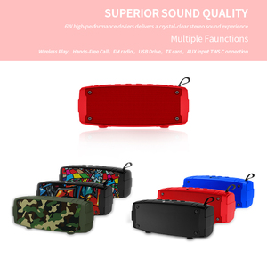 Image 4 - New Portable Bluetooth Speaker Super Bass Wireless Loudspeaker 3D Stereo Music Surround With Mic FM TFCard Aux Outdoor Speaker