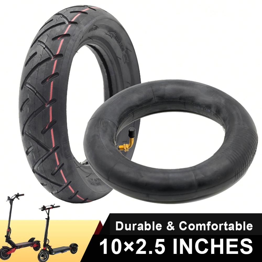 1Pcs 10''X2.5'' Outer Inner Tube For 10inch 10*2.125 Electric Scooter Pneumatic Thickened Tires Durable Thick Wheel