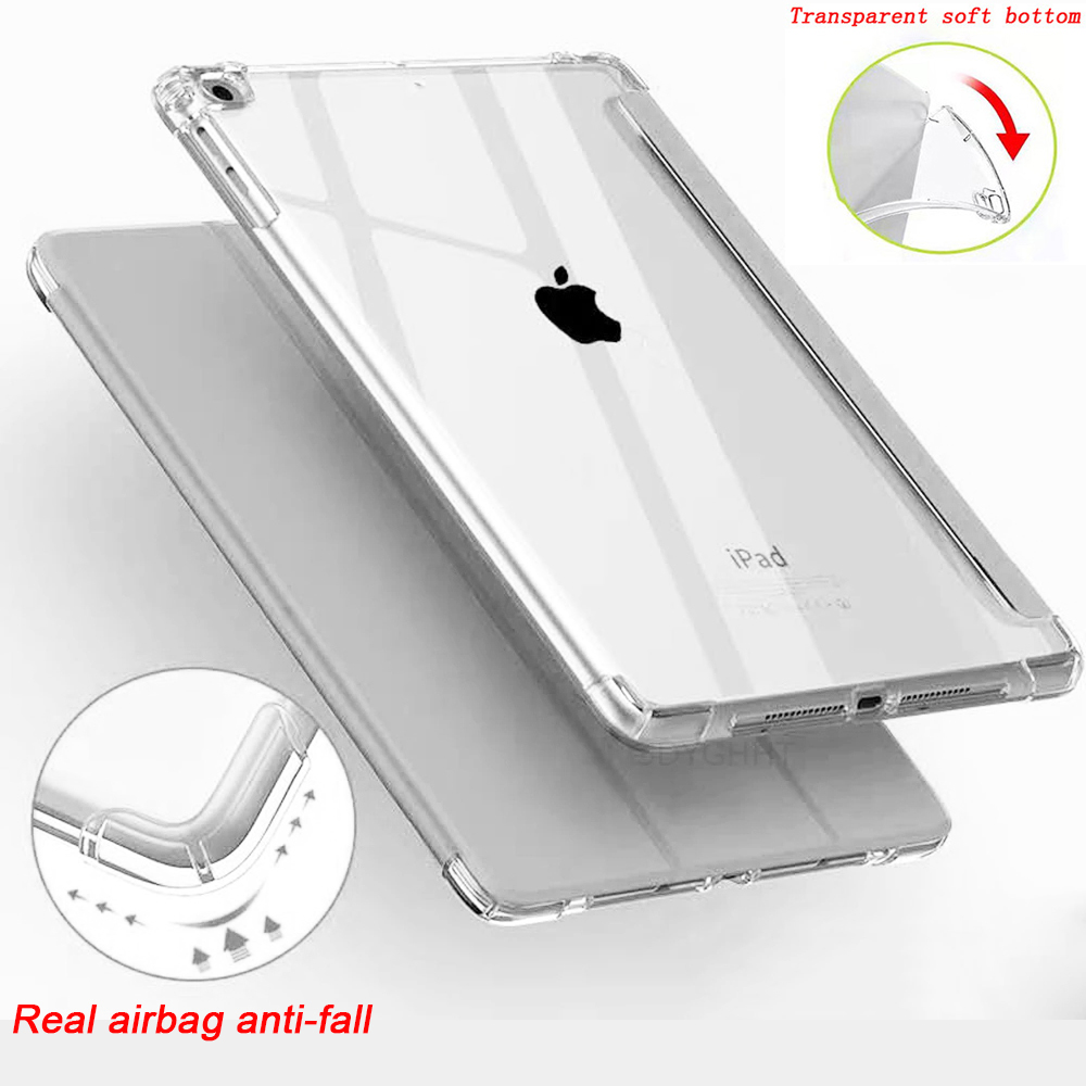 2020 case For iPad 10 2 inch 8th 7th Generation model A2270 A2428 Silicone soft bottom