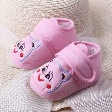 Infant Kleinkind Weiche Sohle Anti-rutsch Erste Wanderer Neugeborenen Baby Mädchen Cartoon Wenig Bär Prewalker Weiche Sohle Schuhe Einzel schuhe