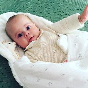 Image 2 - AAG תינוק שק שינה ביצת Cocoon יילוד Sleepsacks רוכסן שינה לעטוף עבור עגלת תרדמת תינוק שקיות מצעים אביזרי *