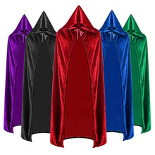 Horror Grim Reaper Costume Men Cosplay Halloween Costumes For Adult Cloak Robe Scary Wizard Carnival Suit