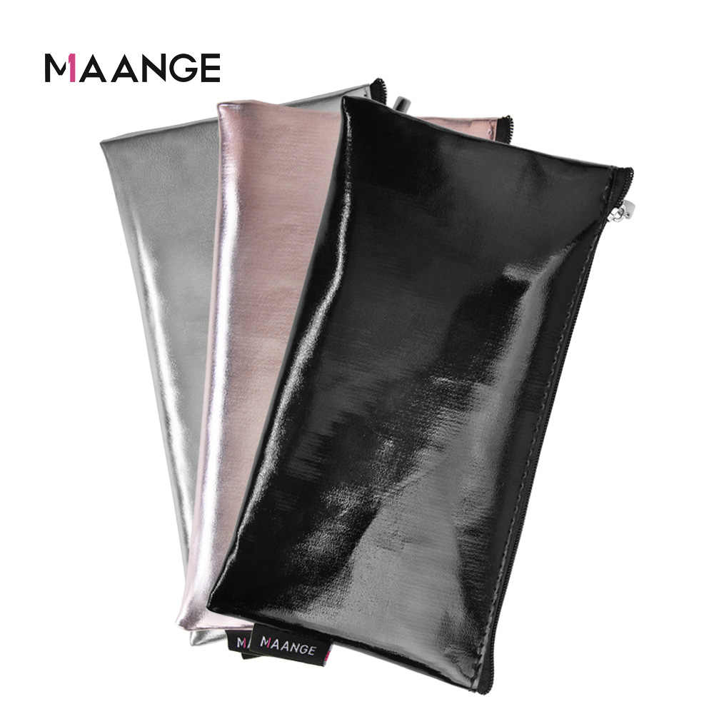 MAANGE 1Pcs Makeup Brushes Case Empty Portable Holder Organizer Pouch Pocket Cosmetic Brush Beauty Bag Makeup Tools Brush Holder