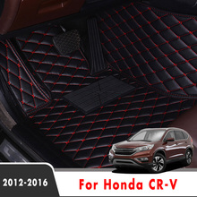 Car-Floor-Mats Carpets Auto-Accessories Custom CRV Protector-Covers Styling-Parts LHD