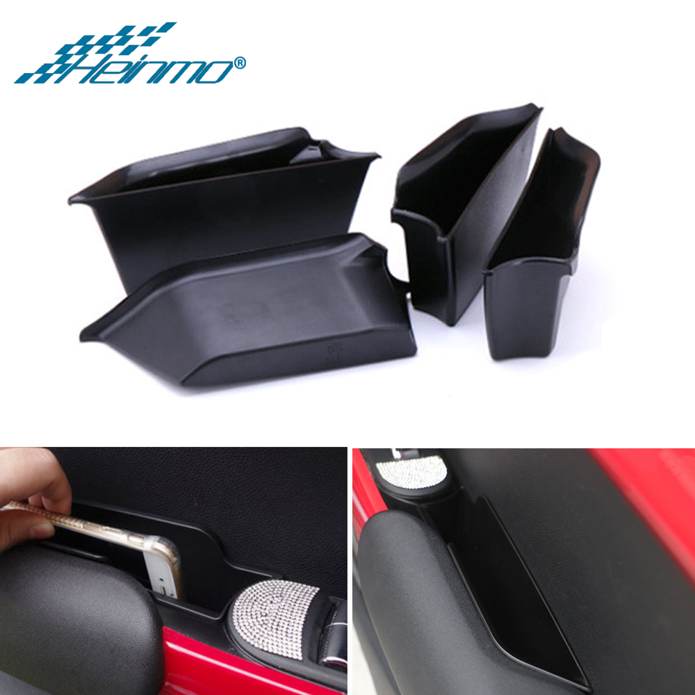 Car-Accessories Armrests-Storage Side-Boxes MINI for Cooper-F56 F55/Inner-door/Side-boxes/Handle