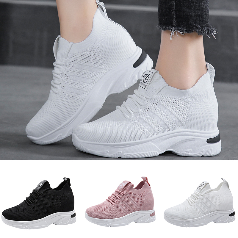 Damyuan 2020 Spring Sneakers Women Breathable Zapatos De Mujer Comfortable Casual Ladies Shoes Platform Mesh Loafers