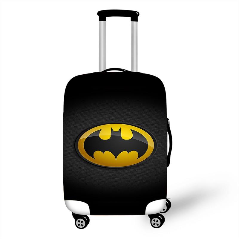 18''-32'' Superhero Batman Elastic Luggage Protective Cover Trolley Super Hero Suitcase Dust Bag Case Cartoon Travel Accessories
