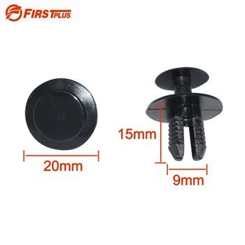 Automotive Plastic Clips Car Fender Bumper Fastener Retainer Rivets For Mercedes-Benz BMW e39 e36 e30 e34 e46 image