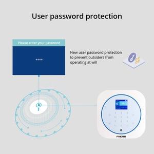 Image 2 - FUERS WIFI GSM אלחוטי בית עסקים פורץ אבטחה APP בקרת סירנה RFID תנועת גלאי PIR עשן חיישן