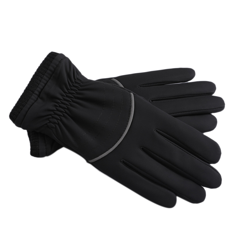 Waterproof Winter Gloves For Men,Cold Weather Windproof Touchscreen Anti-Slip Thermal Warm Gloves Outdoor Sport Running Cycling