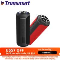 Tronsmart T6 Plus Altavoz Bluetooth 5,0 T6 Plus, reproductor de música portátil con NFC, tarjeta TF, unidad Flash USB, 40W, IPX6