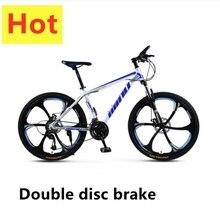 Mountain Bike Disc Brake Shock Absorption 21/24/27/30 speeds Disc brakes Fat bike 26 inch Snow Bicycle
