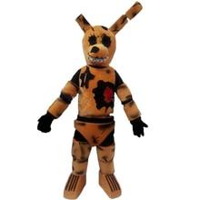 Взрослые пять ночей у Фредди жуткий Коричневый Кролик талисман Рождество нарядное платье Хэллоуин carvinal вечерние талисман костюм