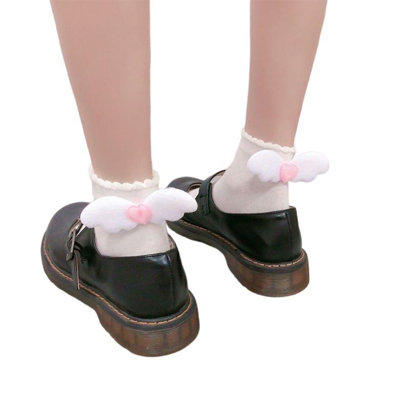 Japanese Lolita Angel Wings Socks 1