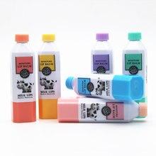 Neue Milch Feuchtigkeits Lip Balm Lippenstift Lip Schutz Süßer Geschmack Lippen Pflege Schönheit Kosmetik SCI88