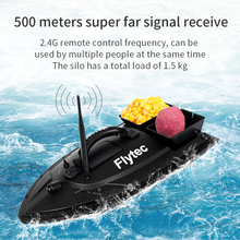 Flytec 2011-5 New Ungrade RC Bait Boat Fishing Tools Finder 1.5kg Loading 500m Remote Control Fishing Bait Boat RC Boat