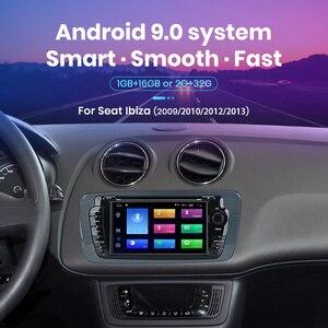 Image 2 - (код черной пятницы: BFRIDAY1000 12000₽ 1000₽) Junsun 2 din Автомобильный Радио dvd плеер для Seat Ibiza 2009 2010 2011 2012 2013 Android 9,0 GPS навигация 2 ГБ + 32 Гб опционально