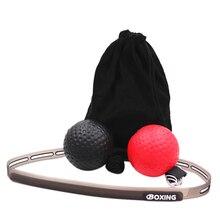 Рефлекторный мяч, боксерский бой мяч Рефлектор для улучшения скорости реакции аксессуары для боксерского оборудования