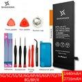 SHANXIAN Preminum батарея Замена для iPhone 7 8 SE 6 6S Plus 5C 5S X реальный нулевой цикл с бесплатными инструментами и PSE CE UN38.3 UL
