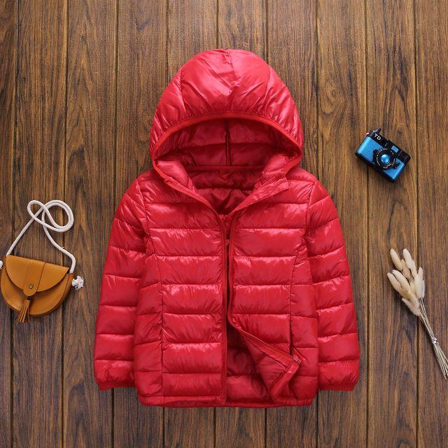 Boys Girls Cotton Winter Fashion Sport Jacket 5