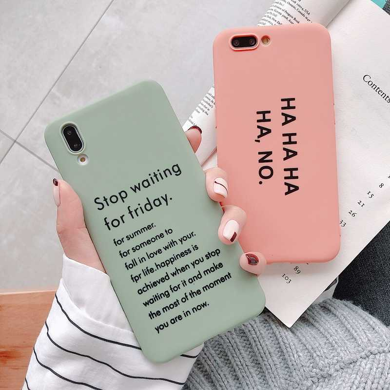 Haha Silicone Ốp Lưng Điện Thoại Iphone XS Max X XR Lưng TPU Coque Cho iPhone 6 6S 7 8 Plus Etui