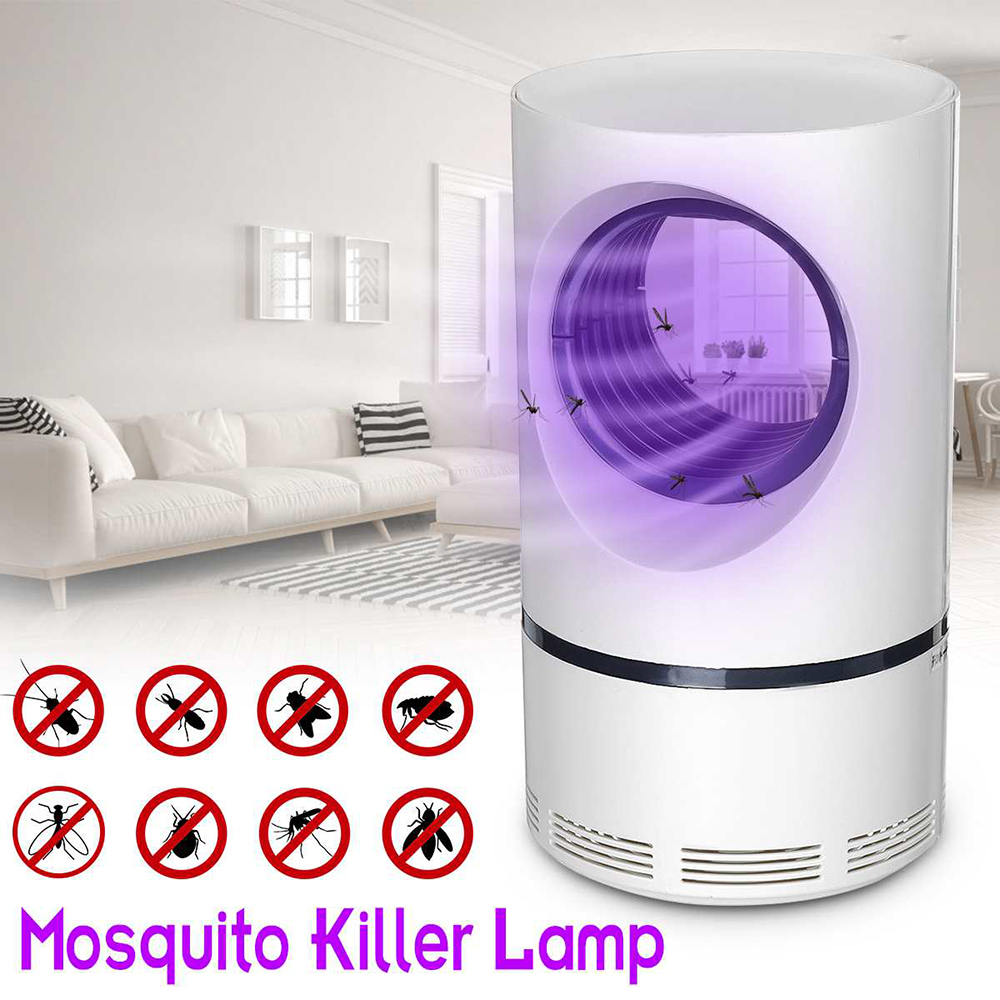Led Mosquito Killer Lamp UV Night Light USB Insect Killer Bug Zapper Mosquito Trap Electric Photocatalytic Repellent Trap Lamp
