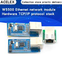 W5500 Ethernet network module hardware TCP / IP 51 / STM32 microcontroller program over W5100