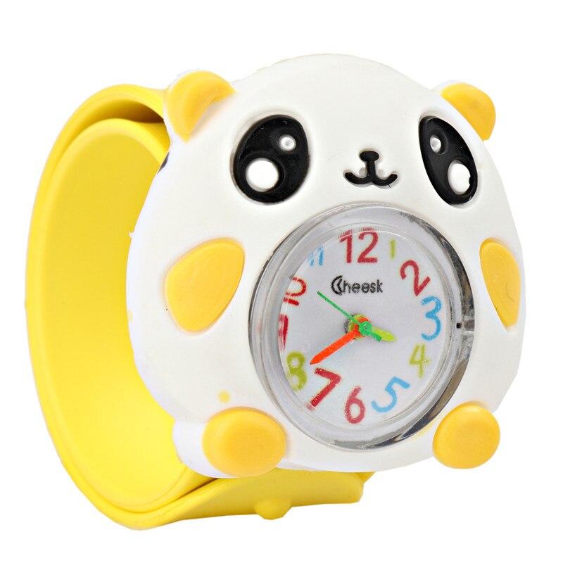Kids Children Watches Puzzle Toys Cartoon Animal  Soft Silicone Quartz Cute Watch For Boy & Girl Student Wristwatch