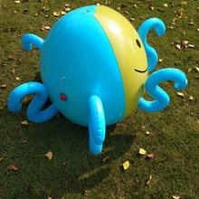 spray outdoor Inflatable Water Summer Children Play Water  Spray Outdoor Parent-child Beach Lawn Play Octopus Sprinkler