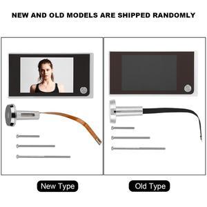 Image 5 - 3.5 inç Video peephole dijital kapı kamera kapı zili 120 derece açı Peephole görüntüleyici video göz kapı kapı zili açık kapı zili