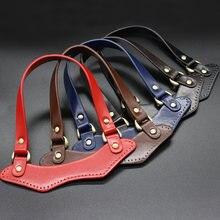 1 пара кожаных сумок сумки ремень высокое качество ручки прочная