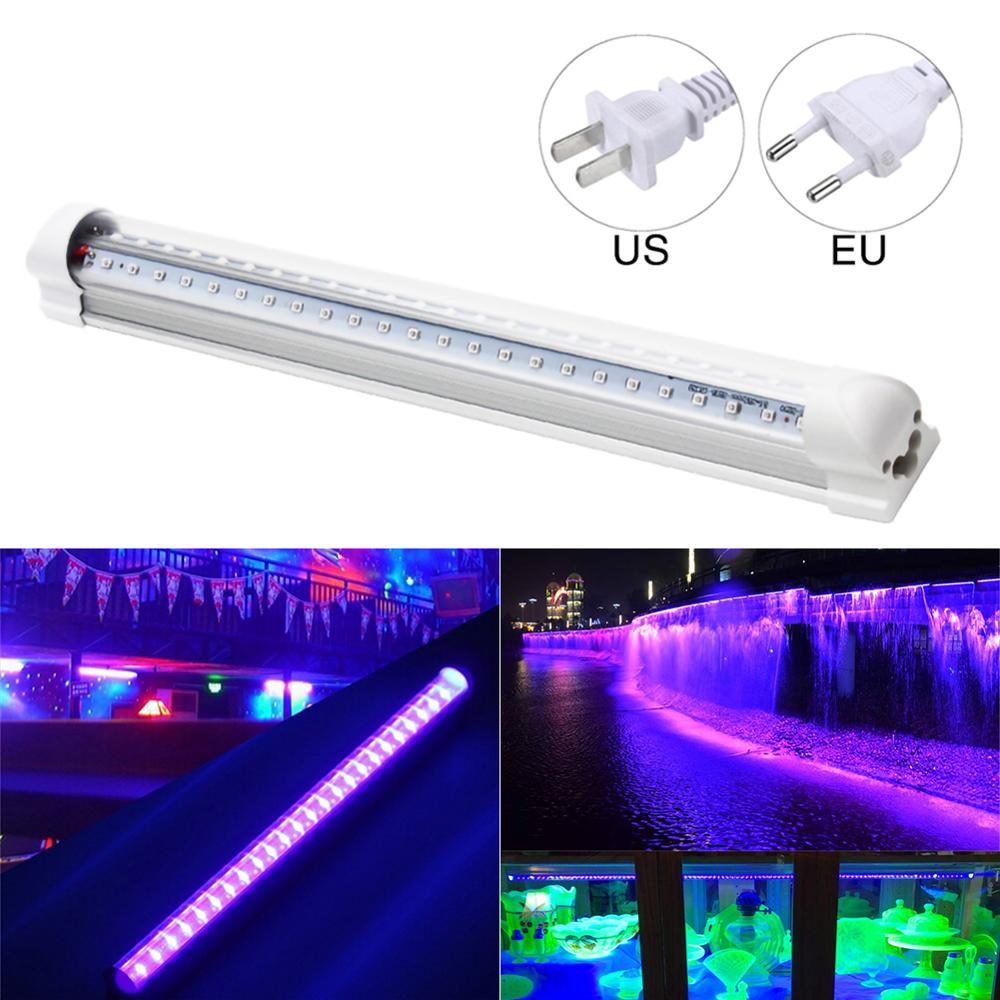 UV LED Black Light Bar Stage Light 10W T8 Integrated Bulb Black Lights Portable 32cm Party Club DJEquipment With Switch