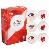 DHS Tennis de Table ITTF World Tour T.T. Balle 3 étoiles ABS D40 + balles de ping-pong en plastique de haute qualité