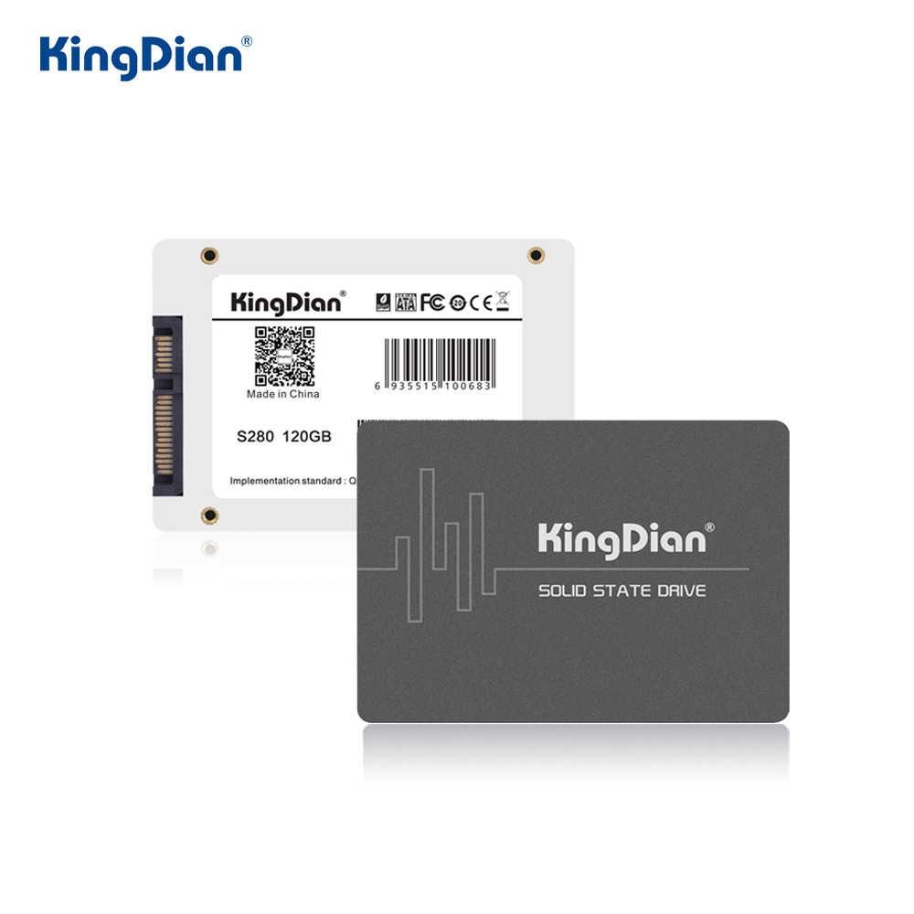 KingDian HDD 2.5 SSD SATA 120GB 240GB 480GB SSD 1TB 2TB SATA3 SSD כונן קשיח 128GB 256GB 512GB Imternal מצב מוצק דיסק