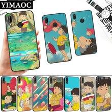 Hayao Miyazaki anime ponyo Silicone Soft Case for Huawei P8 P9 P10 P20 P30 Lite Pro P Smart Z Plus чехол canon dcc 1370 для серии ixus