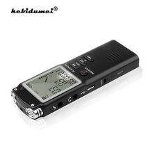 Профессиональный диктофон 8 ГБ, USB, 96 часов, диктофон, цифровой Аудио Диктофон с WAV mp3 плеером, записывающая ручка