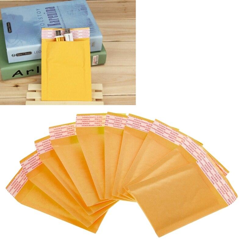 10 шт., конверты для почтовых отправлений из крафт-бумаги