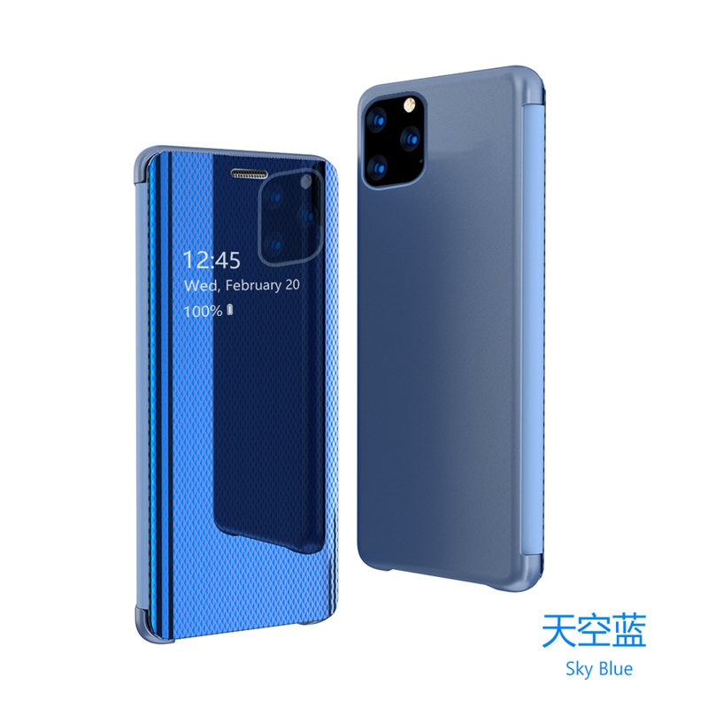 For <font><b>Samsung</b></font> S10 S9 S8 S7 Plus Note10 9 8 Pro <font><b>A30</b></font> 50 750 <font><b>Case</b></font> S7edge A10 M10 S10e s10 5G Smart mirror <font><b>flip</b></font> phone <font><b>case</b></font> cover image