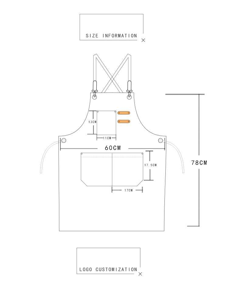 Neue Mode Leinwand küche Schürzen Für Frau Männer Chef Arbeit Schürze Für Grill Restaurant Bar Shop Cafés Schönheit Nägel Studios uniform