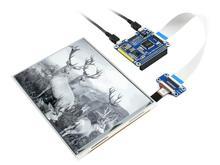 Waveshare 라스베리 파이, 7.8*1872 해상도, it8951 컨트롤러, usb/spi/i80/i2c 인터페이스 용 1404 인치 전자 잉크 디스플레이 모자