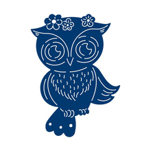 YaMinSanNiO Animal Dies Metal Cutting Scrapbooking Cute Owl Die Cut for Card Making Craft Embossing DIY New 2019