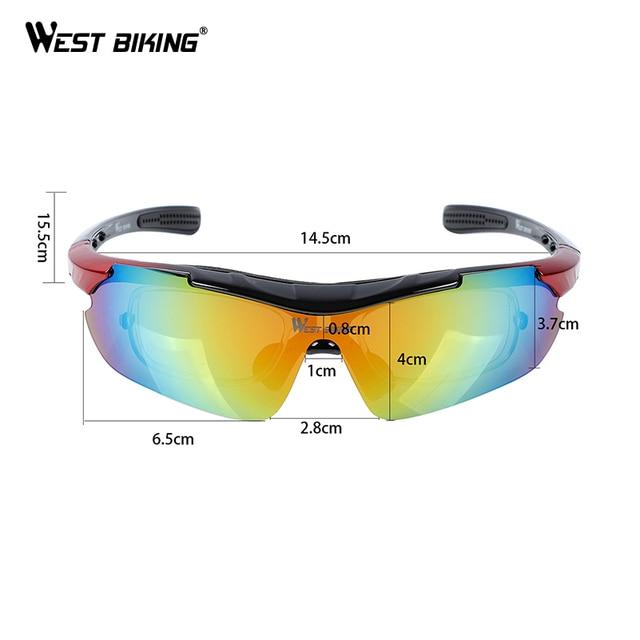 5 lentes de ciclismo óculos polarizados óculos de sol de bicicleta de montanha de estrada 5