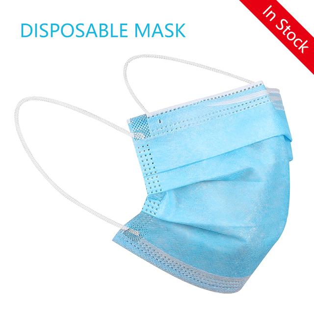 Dustproof Mask Disposable Anti Virus Mask Anti NCoV PM2.5 Masks Facial Safety Masks Antivirus Influenza Bacterial Respirator