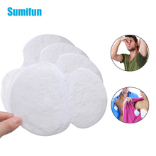 40Pcs Underarm Cotton Sweat Patch Antiperspirant Unisex Absorbing Deodorant Stickers Disposable Pads Armpits Plaster D1065