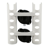 1Pc Suction Cup Fishing Rod Rack Holder for Car Truck Kitchen Wall Mount White